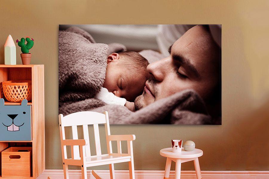 Korting Jouw mooiste foto op canvas XL (120 x 80 cm)