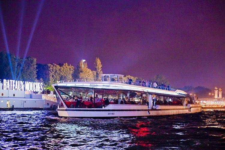 Ontdek Parijs vanaf een boot op de Seine (2 p.)
