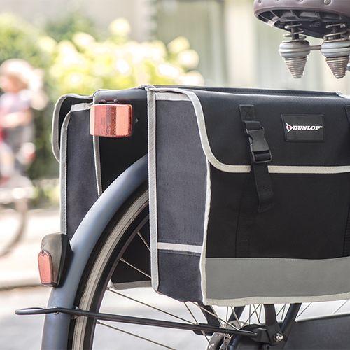 Dubbele fietstas van Dunlop (26 liter)