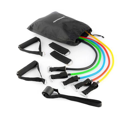 Set van 5 weerstandsbanden en accessoires