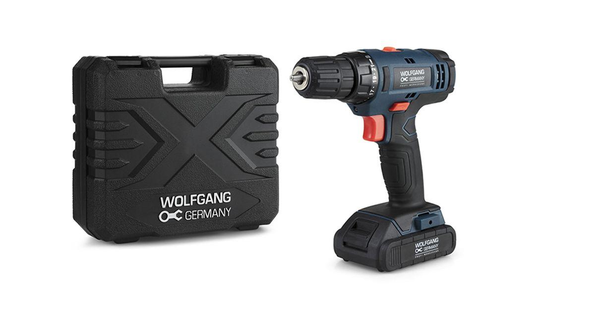 Perceuse-visseuse Wolfgang avec batterie
