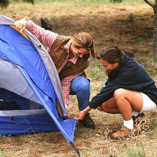Week kamperen