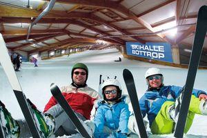 Entree, eten en drinken bij de langste skihal ter wereld