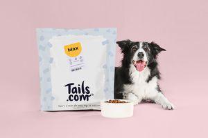 Hundefutter für 1 Monat von tails.com