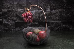 Fruitmand van Berlinger Haus (zwart / roségoud)
