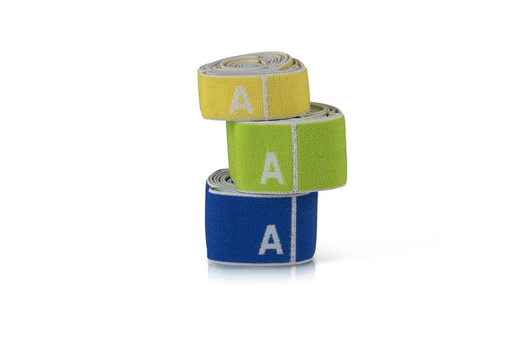 Korting Set van 3 elastische fitnessbanden