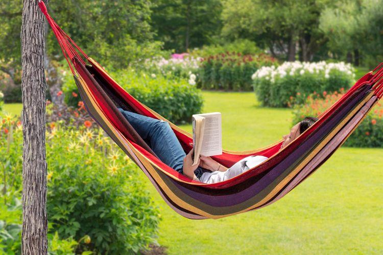 Hangmat Kopen Belgie.Hangmat Regenboog Zomerse Hangmat Van Lifa Garden 200 X 100 Cm