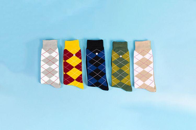 Giftbox met 5 paar sokken van Alfredo Gonzales (41 - 46)
