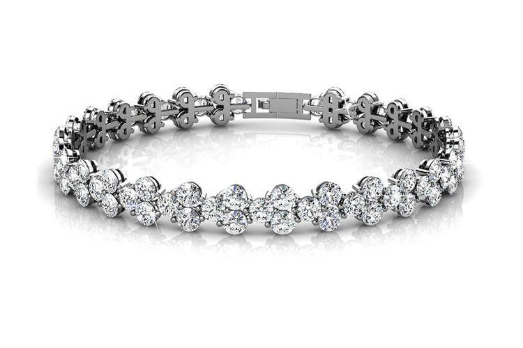 Korting Armband Joyfull met zirkonia diamantjes