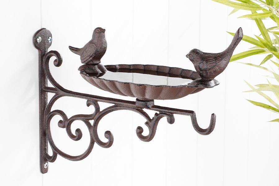 Vogelvoederbak voor aan de muur
