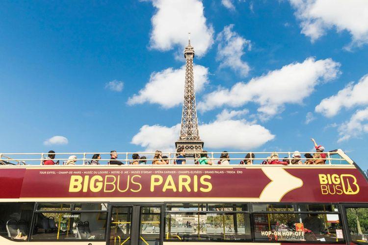 2 Classic tickets voor 2 uur Big Bus Parijs (2 p.)
