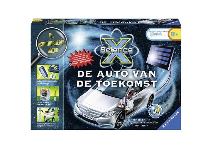 ScienceX® De auto van de toekomst van Ravensburger
