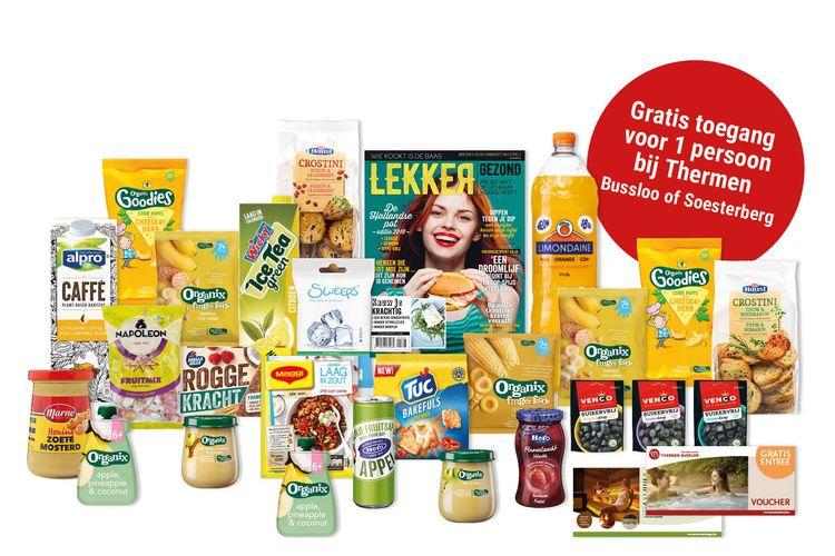 Happy Box met 25 producten + sauna entree (1 p.)