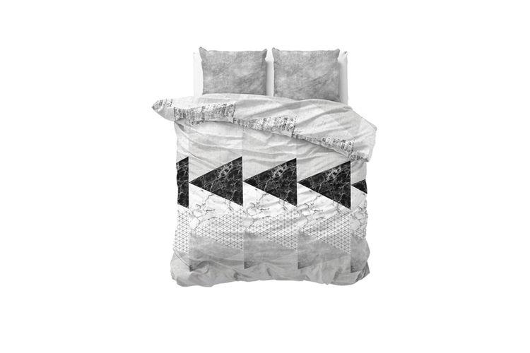 housse de couette marble art housse de couette en coton marble art 200 x 220 cm vavabid. Black Bedroom Furniture Sets. Home Design Ideas
