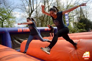 2 tickets voor de obstakelrun AIR GAMES by Basic Fit