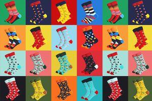 Verrassingspakket met 10 paar sokken (maat: 35 - 40)