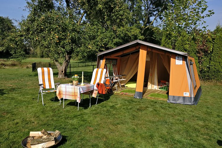 Zomer: Week Freecamp huurtent in Belgi� of Nederland