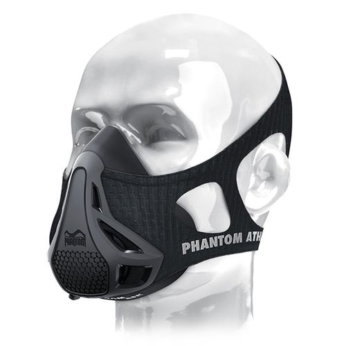 Zwart sportmasker (Phantom Training Mask)