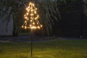 Decoratieve kerstboom met 52 led-lampjes
