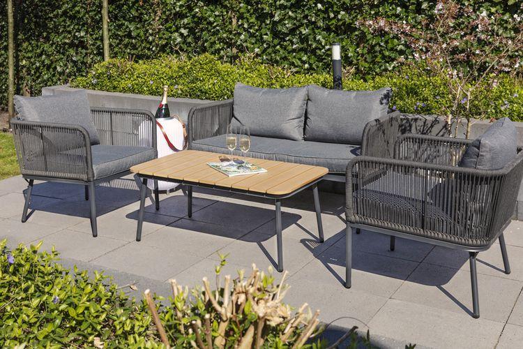 Luxe 4-delige loungeset van Lifa Garden