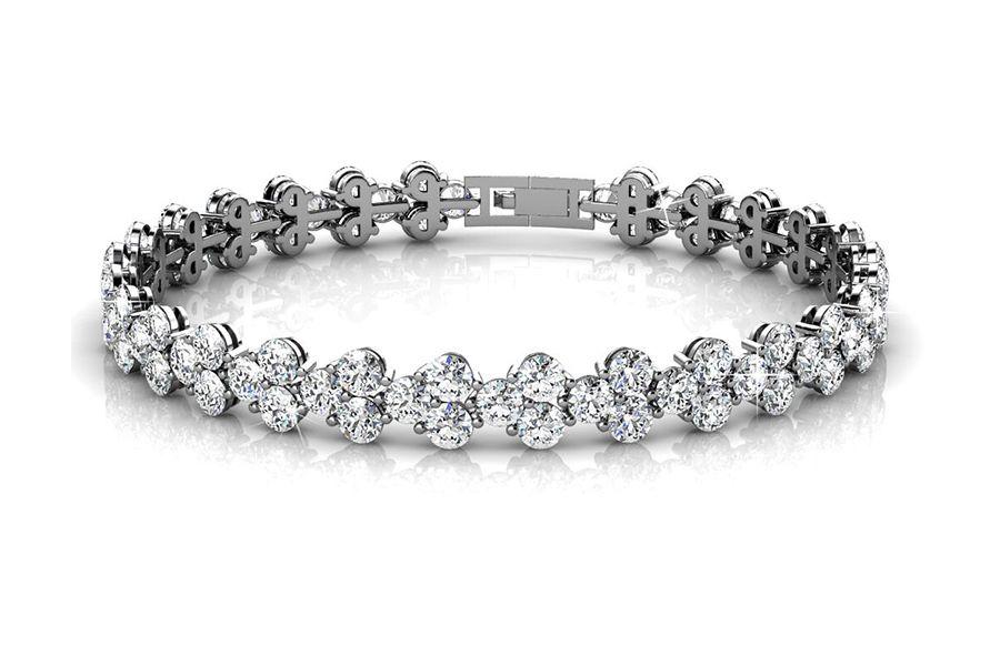 Armband Joyfull met zirkonia diamantjes