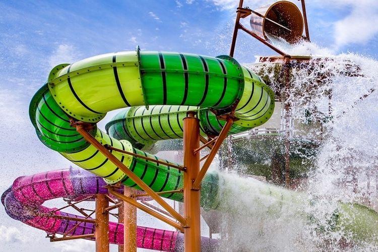 2 kaarten voor waterpark Wave Island - Monteux, Frankri