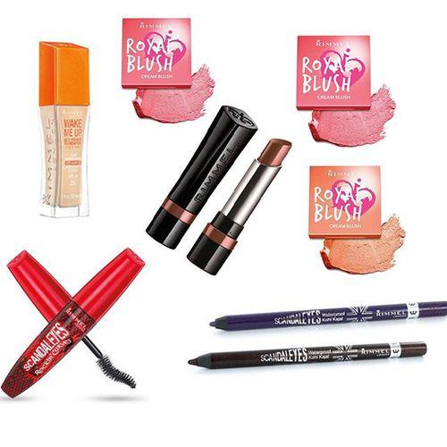 Korting Pakket met 8 cosmeticaproducten van Rimmel