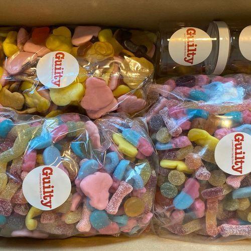XXL snoeppakket van Guilty Candy Store (5 kg)