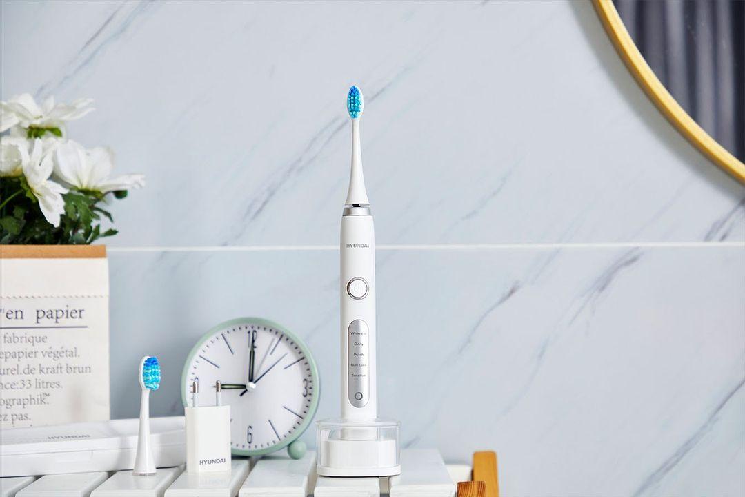 Hyundai elektronische tandenborstel met 5 poetsstanden