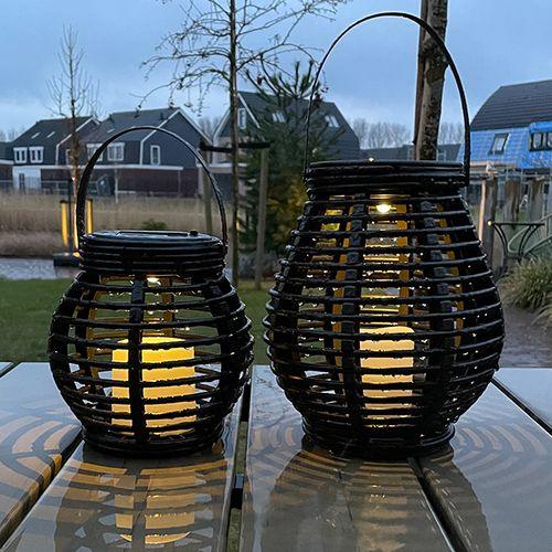 2 lantaarns van FlinQ