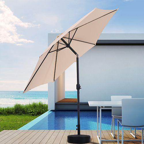 Cr�me parasol met kantelsysteem van Feel Furniture(�300)