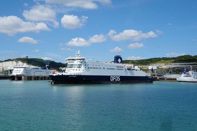 Overtocht naar Engeland met DFDS (auto + 9 p.)