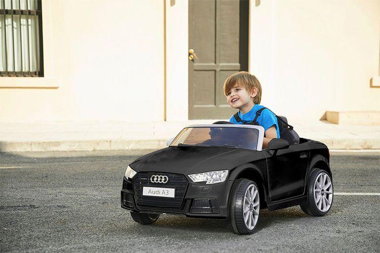 Elektrische Audi A3 met afstandsbediening (zwart)