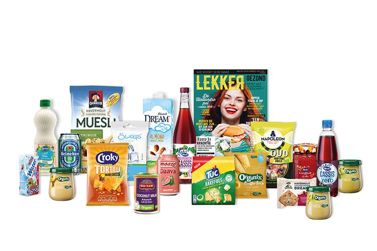 Happy Box met 20 producten thuisbezorgd