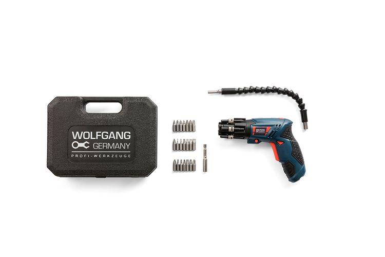 Draadloze elektrische schroefmachine van Wolfgang