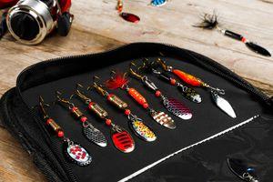 16-delige vishaken-set voor hengelsport