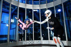3 indoor skydive-sessies p.p. (voor 2 personen)