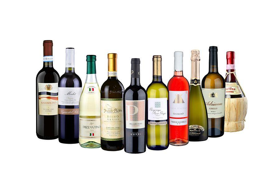 10 Italiaanse wijnen van Butlon