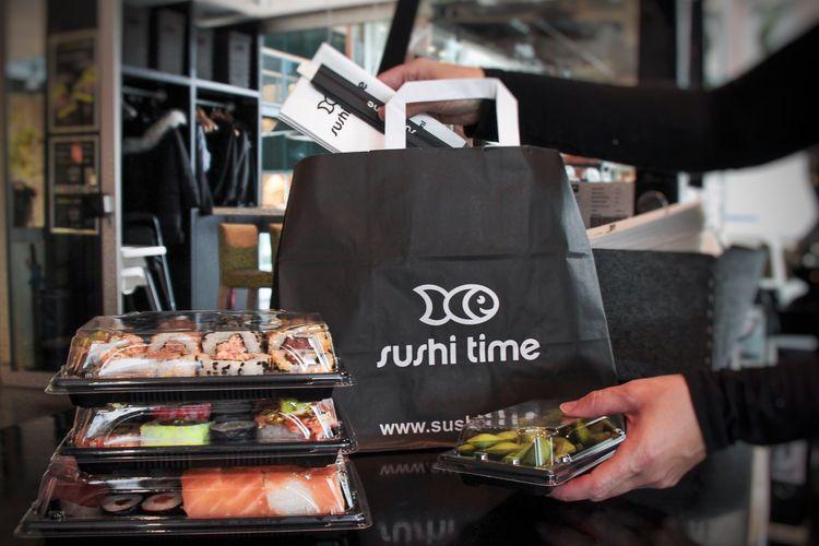 50% korting bij afhalen Sushi Time Amstelveen