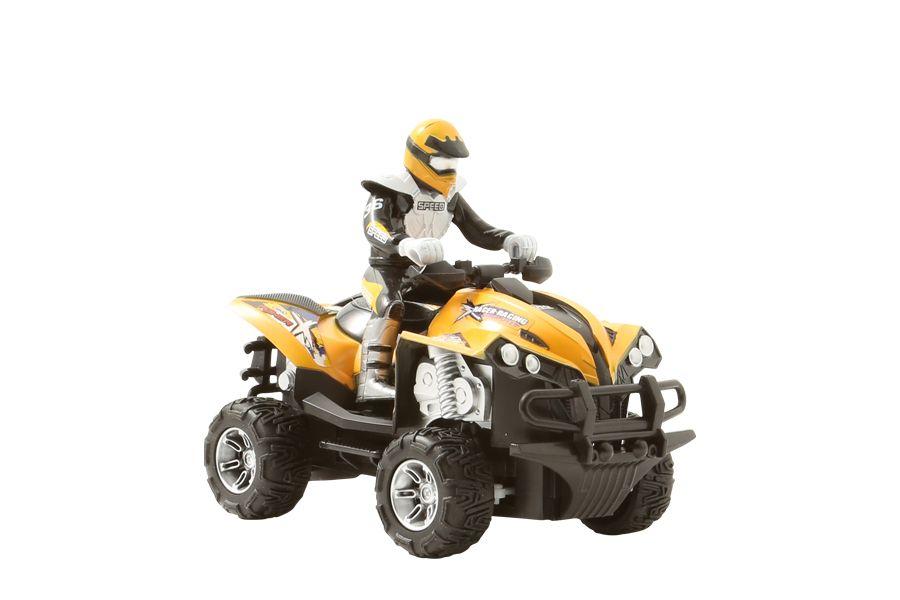 Op afstand bestuurbare quad (20,3 x 12 x 16 cm)