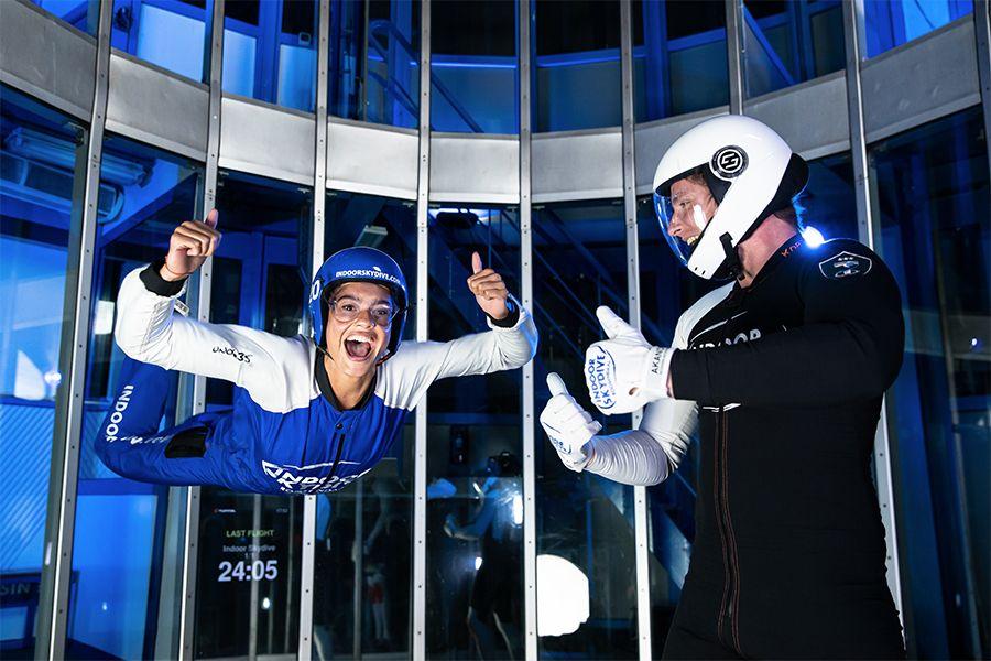 3 indoor skydive-sessies in Roosendaal (1 p.)
