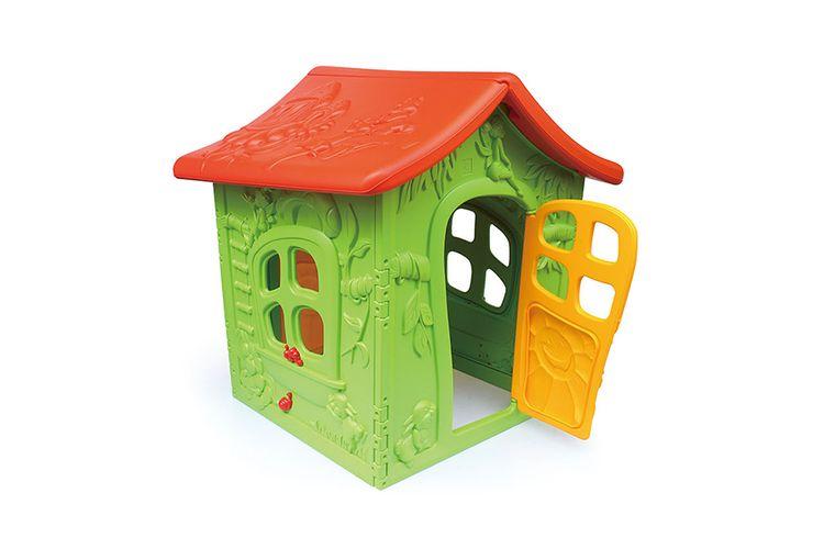 Speelhuis met bos-thema voor binnen of buiten (130 cm)