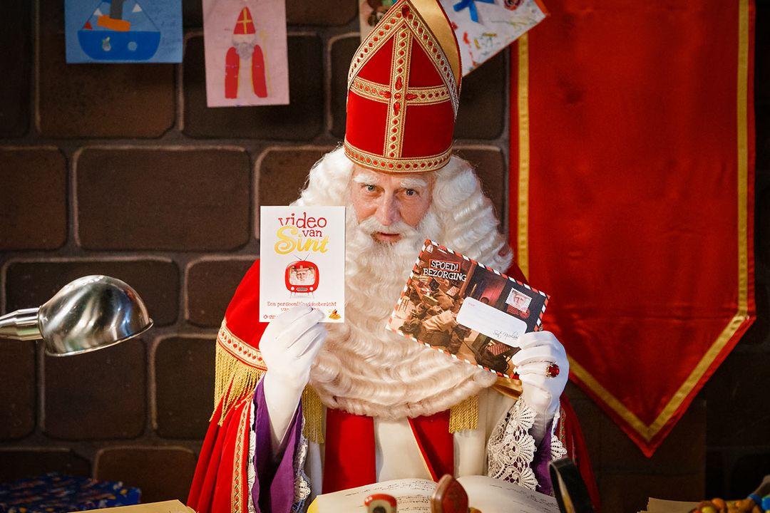 Persoonlijke videoboodschap van Sinterklaas (12 min.)