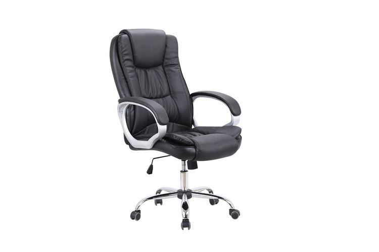 Zwarte bureaustoel (model: Anubis - Scarabee)