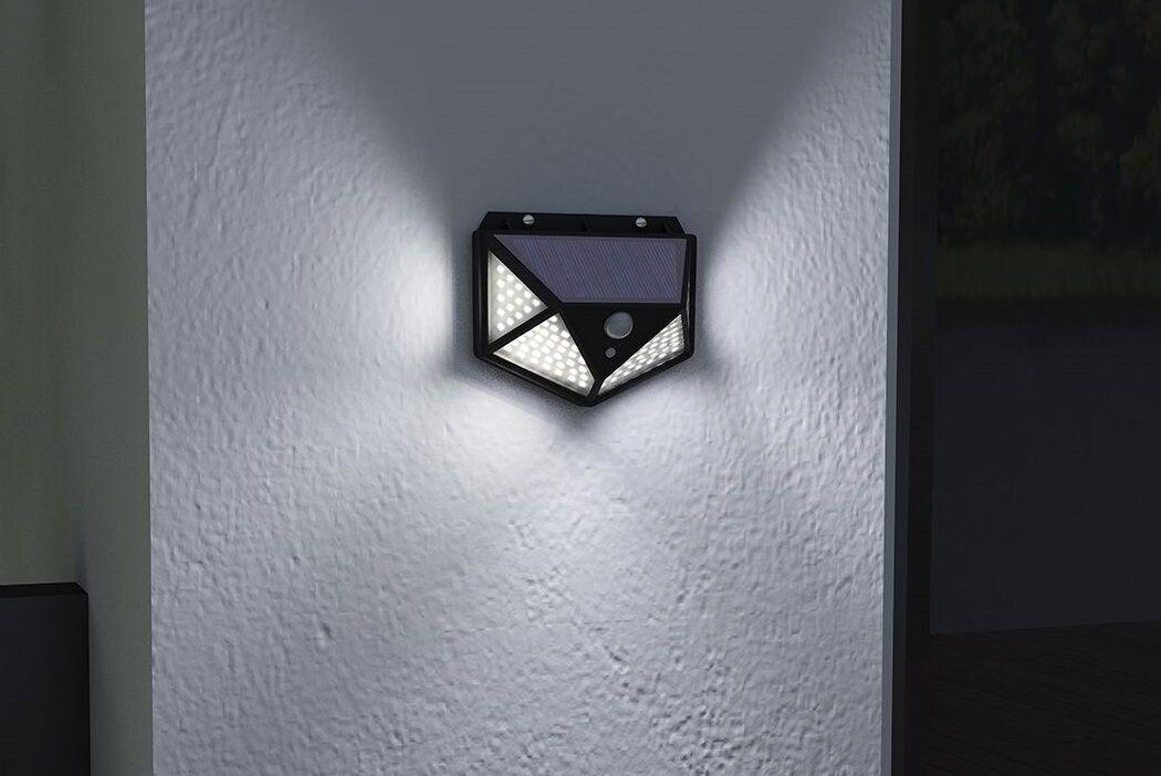 Solarlamp met bewegingssensor van Hyundai (100 leds)