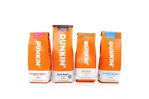 8 paquets de café moulu de Dunkin'