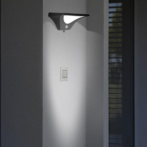 Led-buitenlamp met bewegingssensor