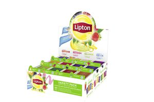 180 theezakjes van Lipton (12 verschillende smaken)