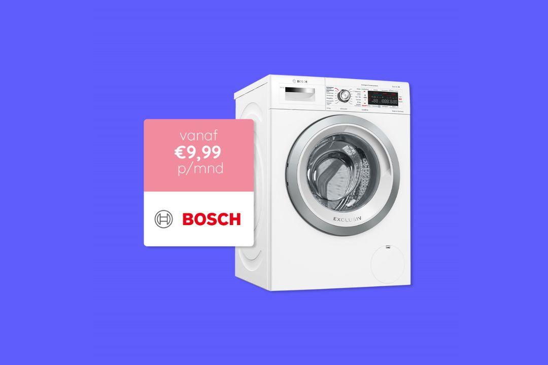 Gebruik een Bosch apparaat voor 3 maanden