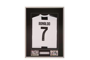 Gesigneerd voetbalshirt door Cristiano Ronaldo
